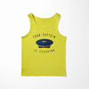 Your Captain Is Speaking Designed Tank Tops