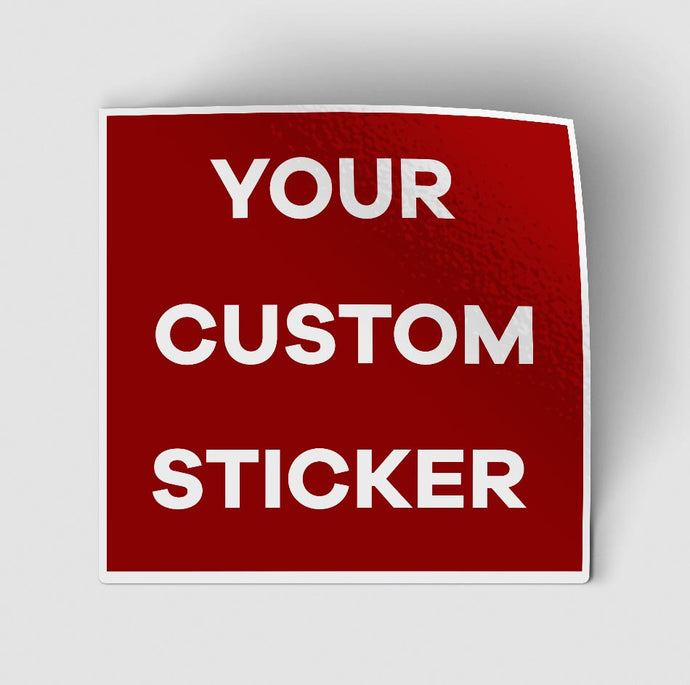 Your Custom Photo (Rectangle) Designed Stickers