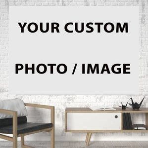 Your Custom Image Printed Canvas Posters (1 Piece) Aviation Shop