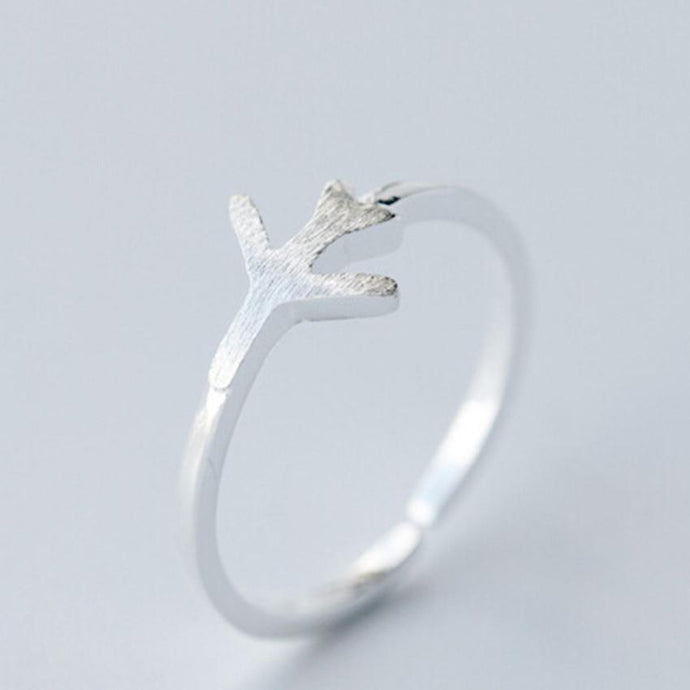 Adjustable Airplane Shaped Ring