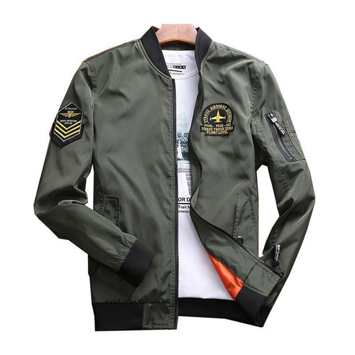 Air Force Fighter Pilot Designed Bomber Jackets & Windbreakers
