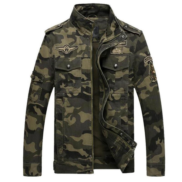 Air Force Military Pilot Bomber Jacket