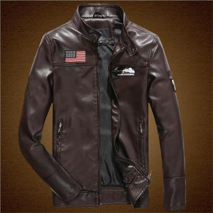 Airborne Military PILOT Leather Bomber Jackets