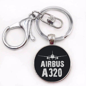 Airbus A320 & Plane Designed Key Chains