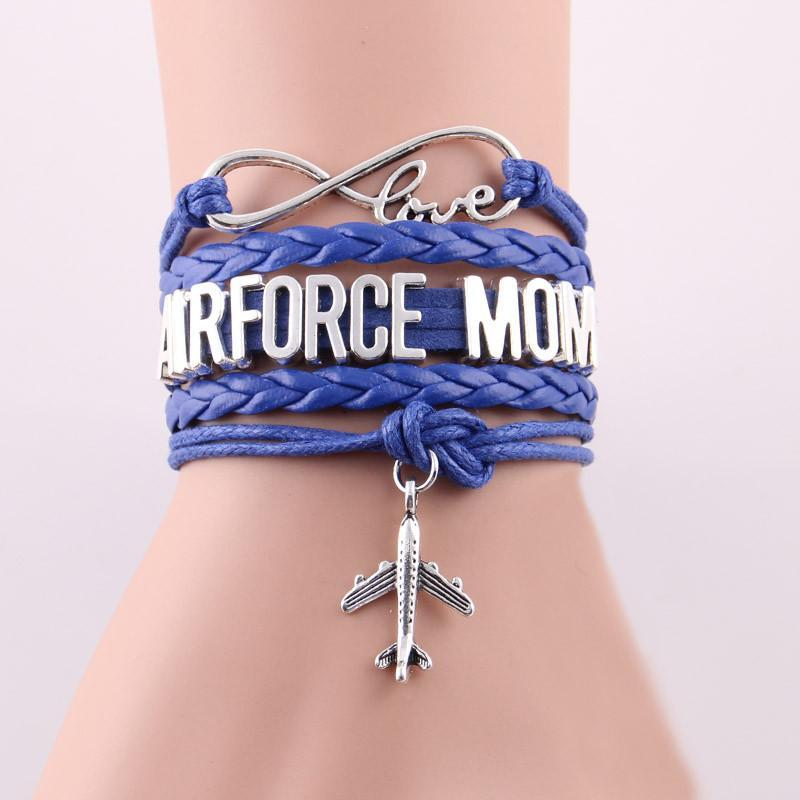 Airforce Mom Designed Bracelets