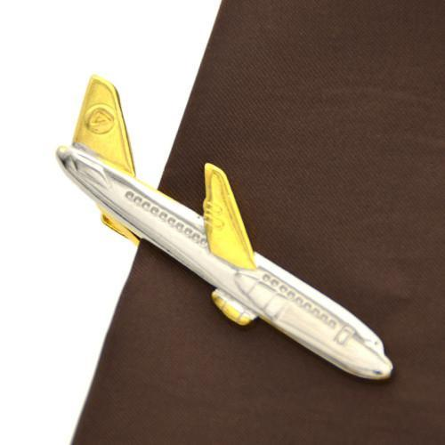 Airline Jet Aircraft Designed Tie Clips