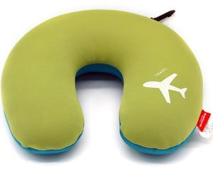 Airplane Logo Designed Travel Pillow