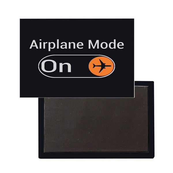 Airplane Mode ON Designed Magnets