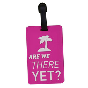 Are We There Yet? Designed Luggage Tags