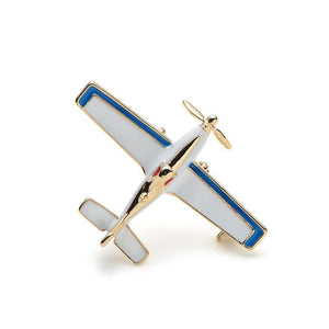 Beautiful Propeller Aircraft Brooches