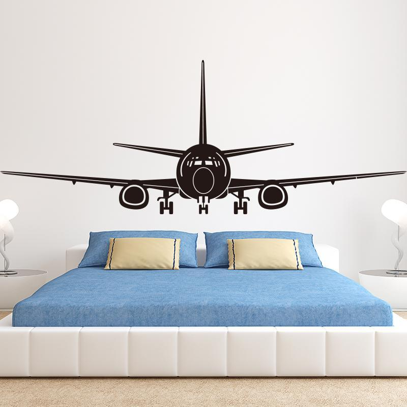 Boeing 737 Designed Wall Stickers