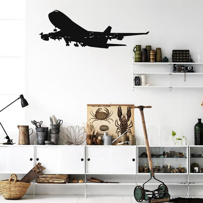 Boeing 747 Designed Wall Stickers