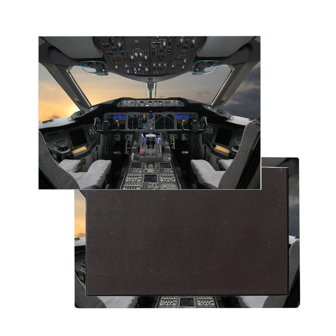 Boeing 787 Cockpit Printed Magnets