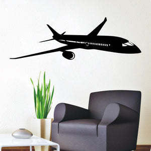 Boeing 787 Designed Wall Stickers