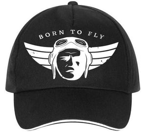 Born To Fly An Aircraft Designed Hats