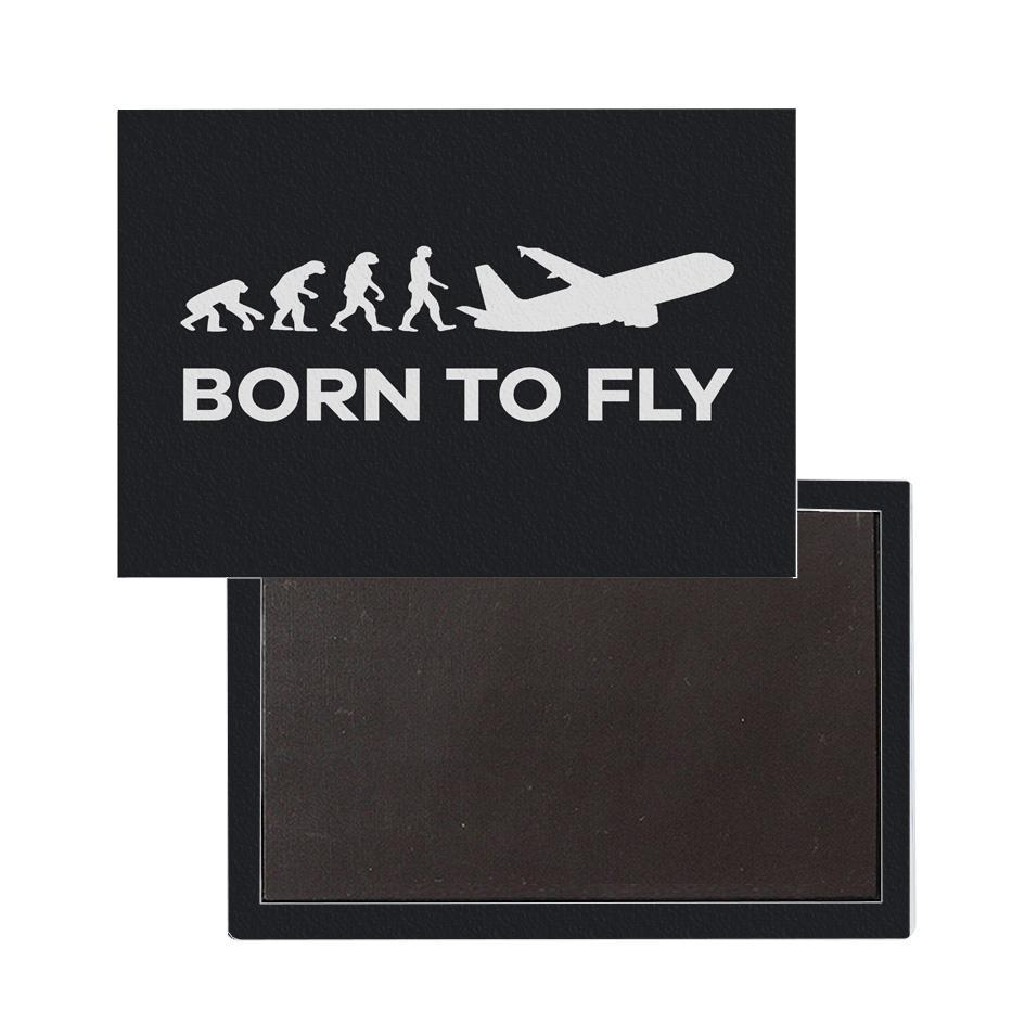 Born To Fly Printed Magnets
