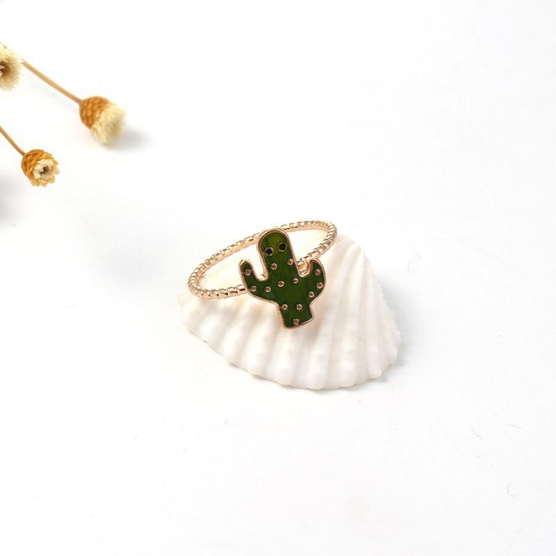 Cactus Designed Ring