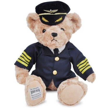Captain Pilot & Cabin Crew Teddy Bear & Dolls