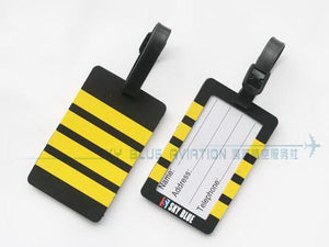 Captain's Epaulette Rubber Luggage Tag