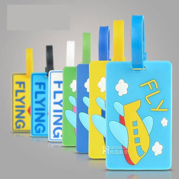 Cartoon Designed Luggage Tags