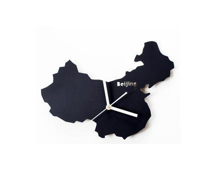 China's Map Designed Wall Clocks