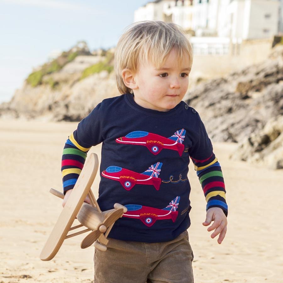 Colourful Style & Airplane Designed Babies And Kids Sweater