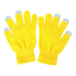 Colourful Touch-Screen Friendly Gloves