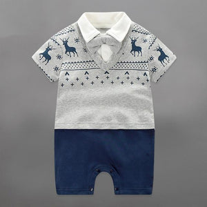 Cool Style Pilot Uniform Designed Baby Jumpsuits