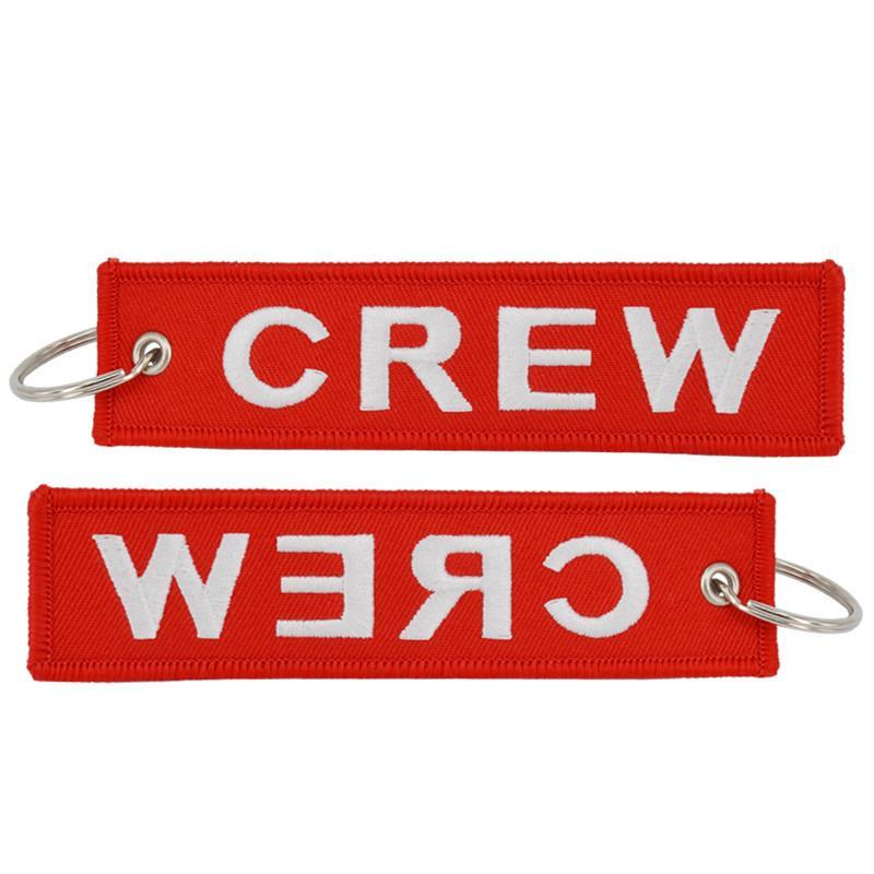 Crew Designed Key Chains
