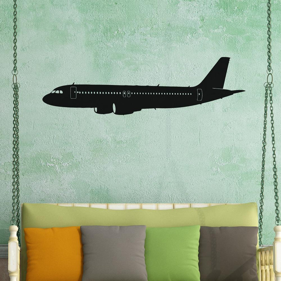 Cruising Airbus A320 Designed Wall Stickers