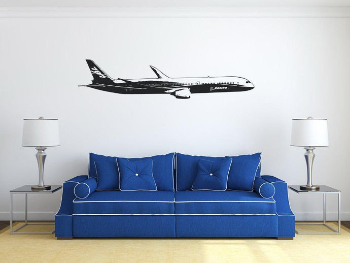 Cruising Boeing 787 (2) Designed Wall Stickers