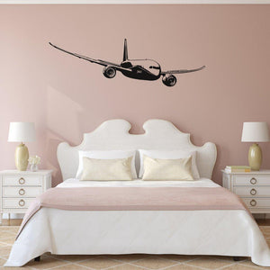 Cruising Boeing 787 Designed Wall Stickers