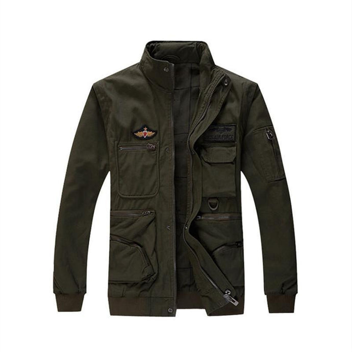 Detachable & Multi-seasonal Pilot Bomber Jacket And Vest