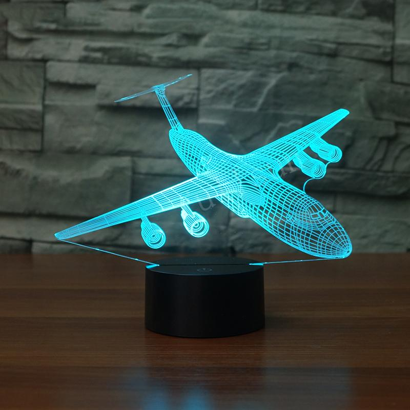 Lockheed C-5 Galaxy Designed 3D Lamp Pilot Eyes Store