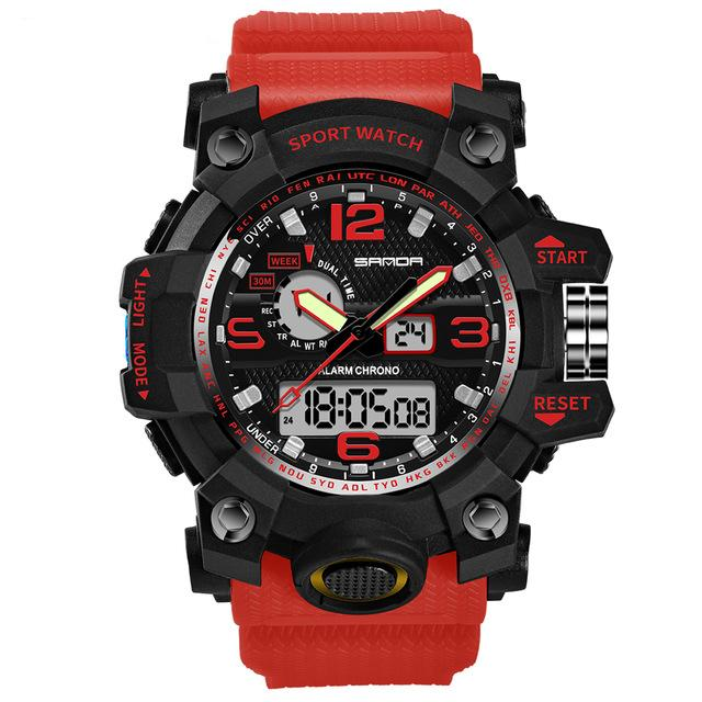 Super Quality S-Shock Watches Pilot Eyes Store Red