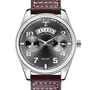 Luxury Aviator & Pilot Watches Pilot Eyes Store Brown & Black