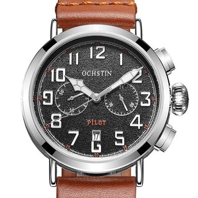 Chronograph Sport Style Pilot & Aviator Watches