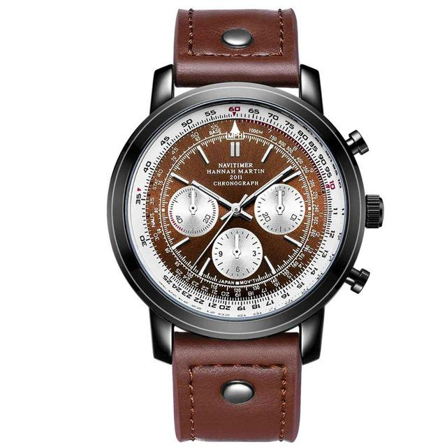 Navy Pilot & Aviator Designed Watches Pilot Eyes Store Brown