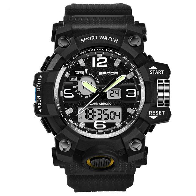 Super Quality S-Shock Watches Pilot Eyes Store Black