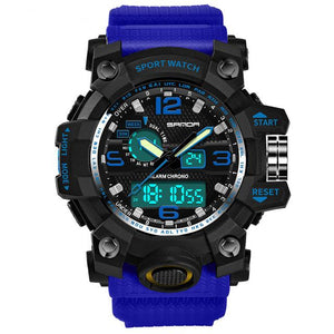 Super Quality S-Shock Watches Pilot Eyes Store Blue