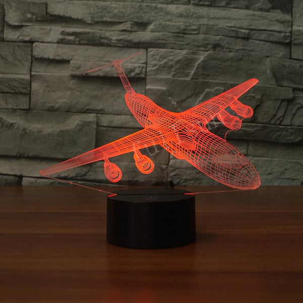 Lockheed C-5 Galaxy Designed 3D Lamp