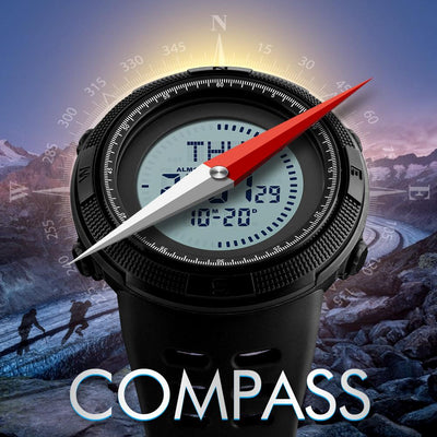Outstanding Quality Pilot Watch with Compass Feature