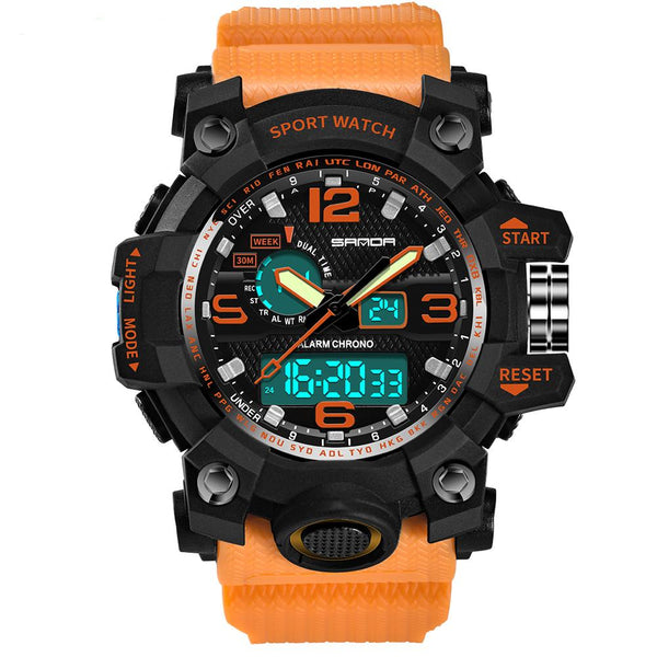 Super Quality S-Shock Watches Pilot Eyes Store Orange