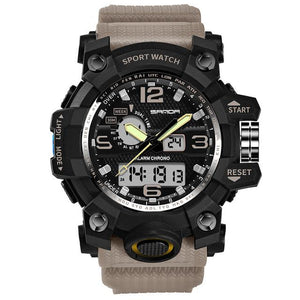 Super Quality S-Shock Watches Pilot Eyes Store Khaki