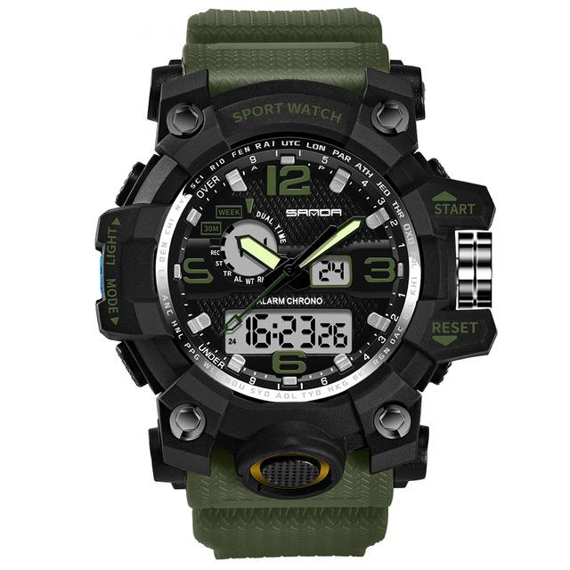 Super Quality S-Shock Watches Pilot Eyes Store Green