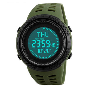 Outstanding Quality Pilot Watch with Compass Feature Pilot Eyes Store Green