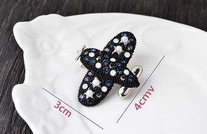 Fashion Stype Airplane Shape Brooches