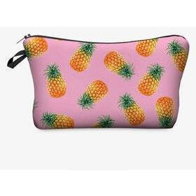 Fresh Cactus 3D Printed Women Makeup Bag