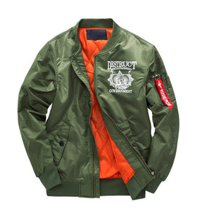 Government Riot Designed Pilot Bomber Jackets