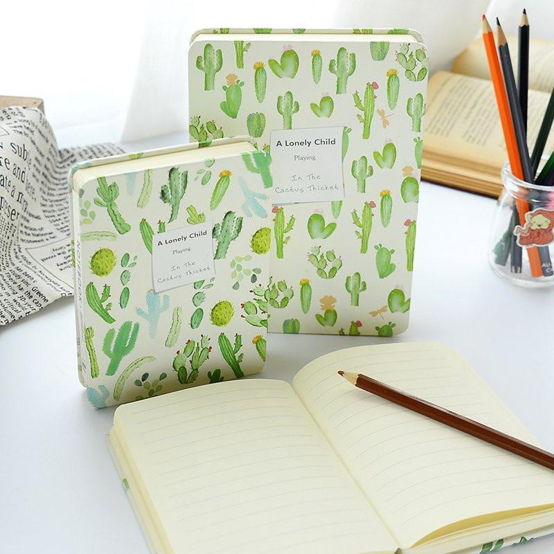 High Quality Cactus Designed Notebooks